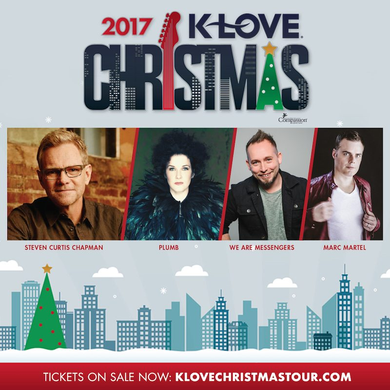 Klove Christmas Tour.K Love Christmas Tour Steven Curtis Chapman